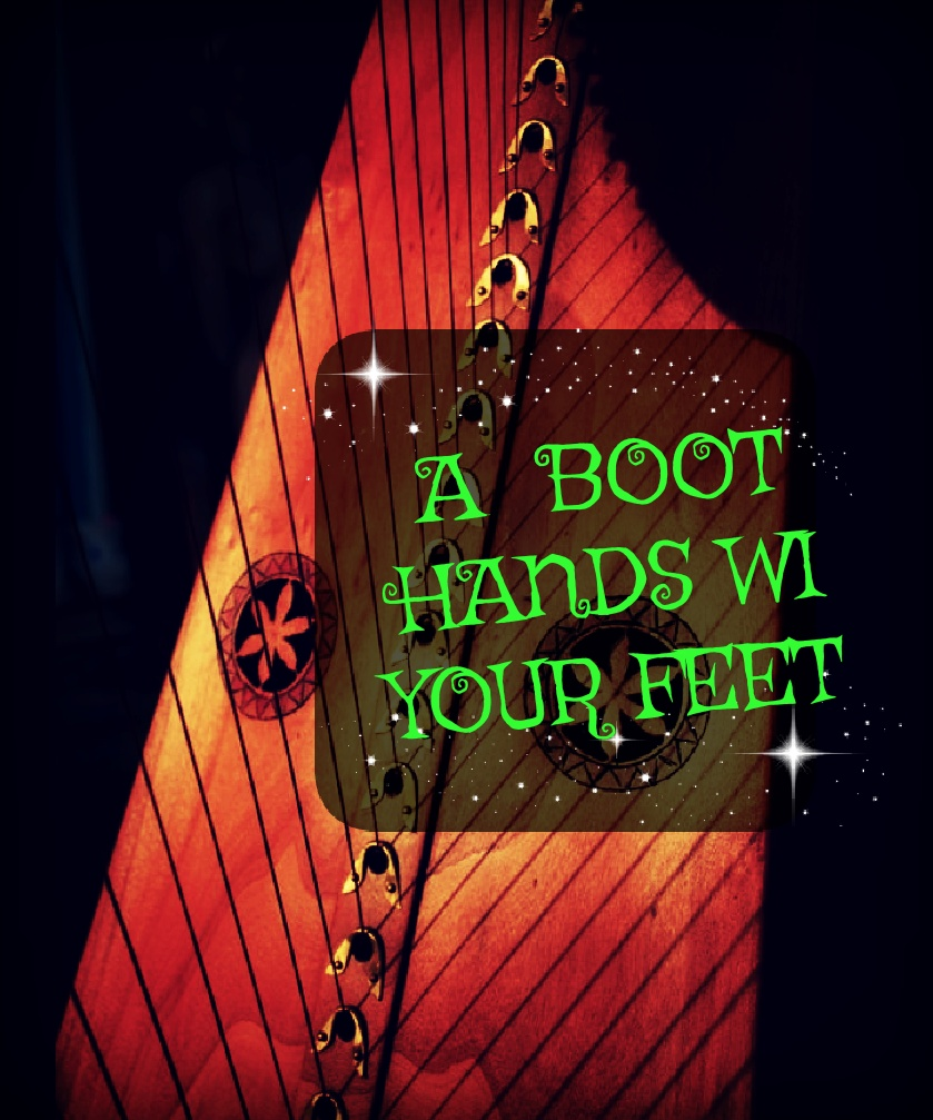 262-A BOOT HANDS WI YOUR FEET  - KATRIEN DELAVIER 38S