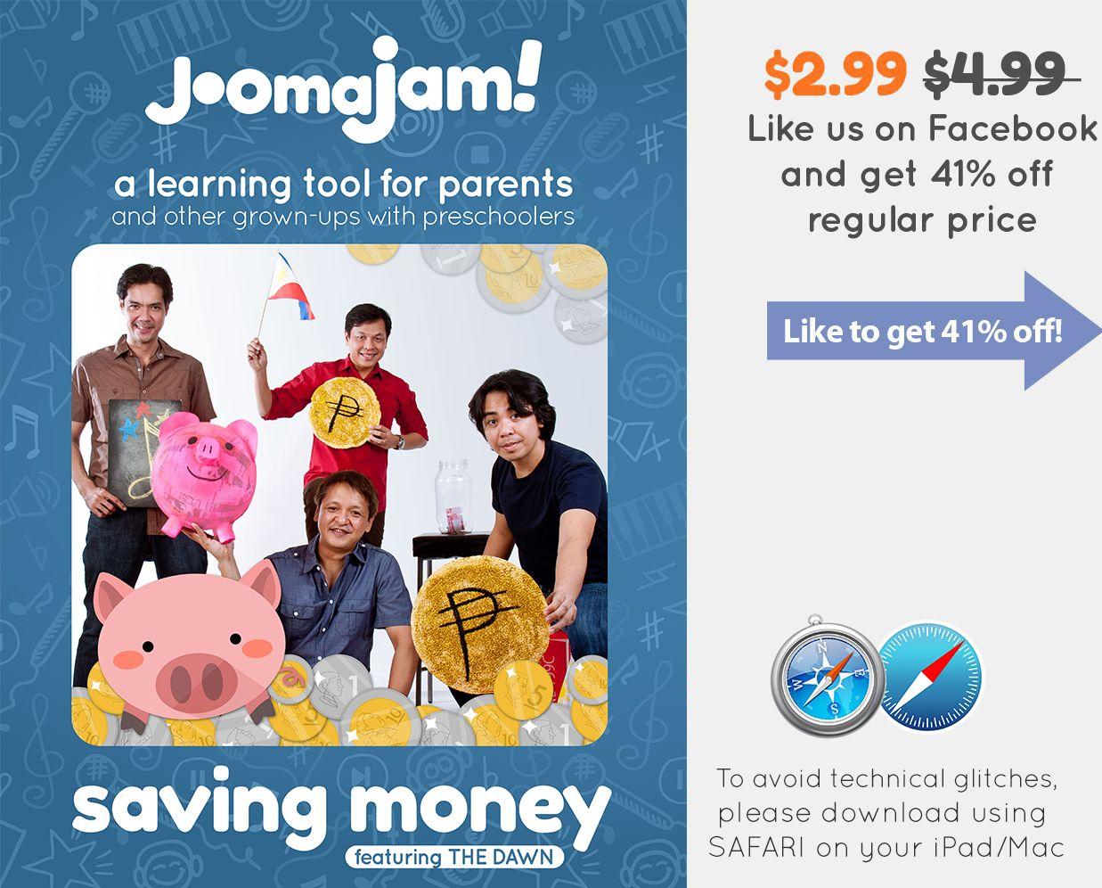 Saving Money JoomaJam