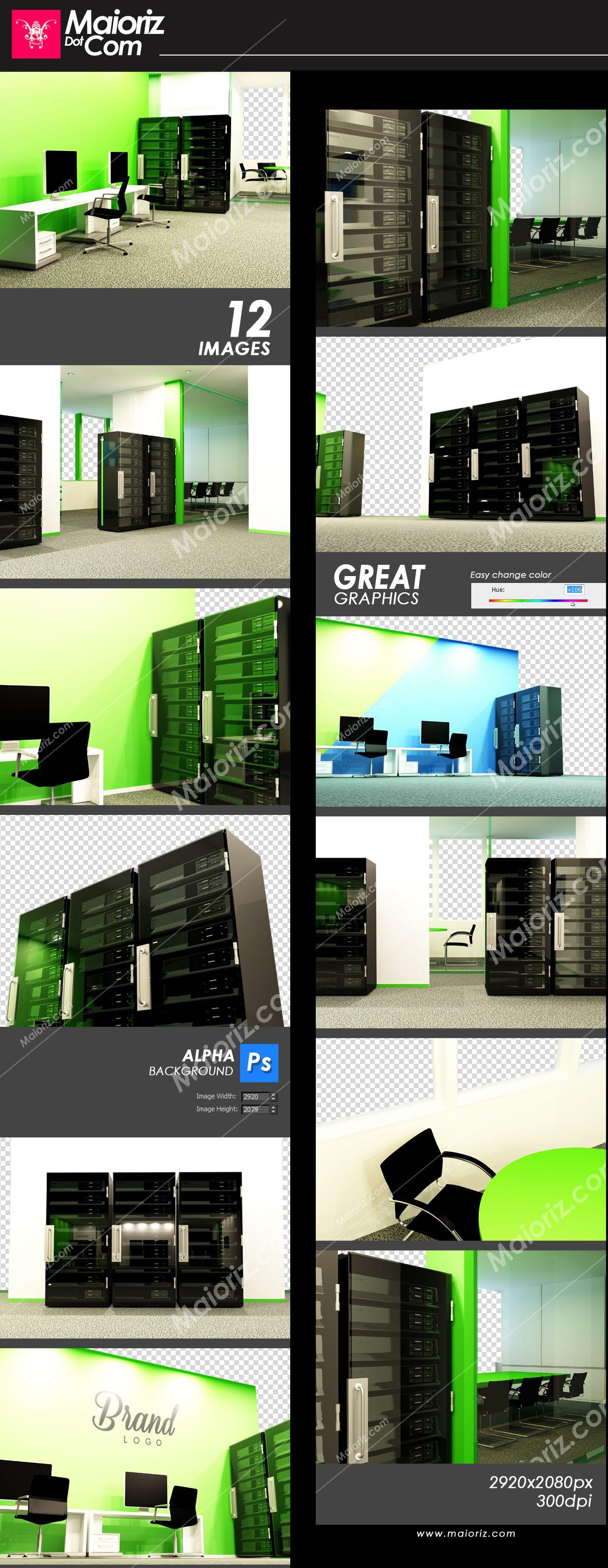 Server Office Branding