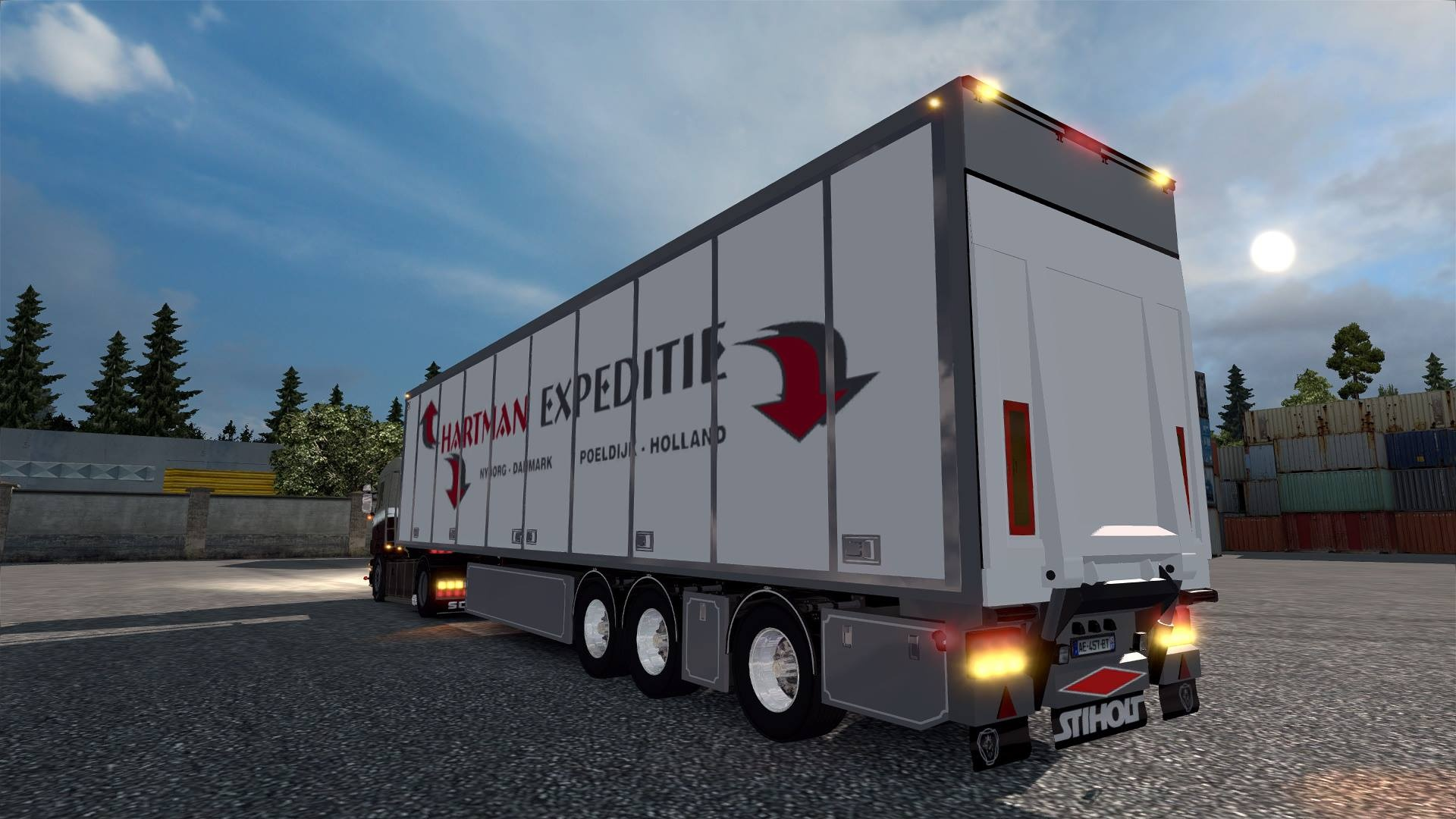ETS2 Hartman Expeditie FRC Trailer Model