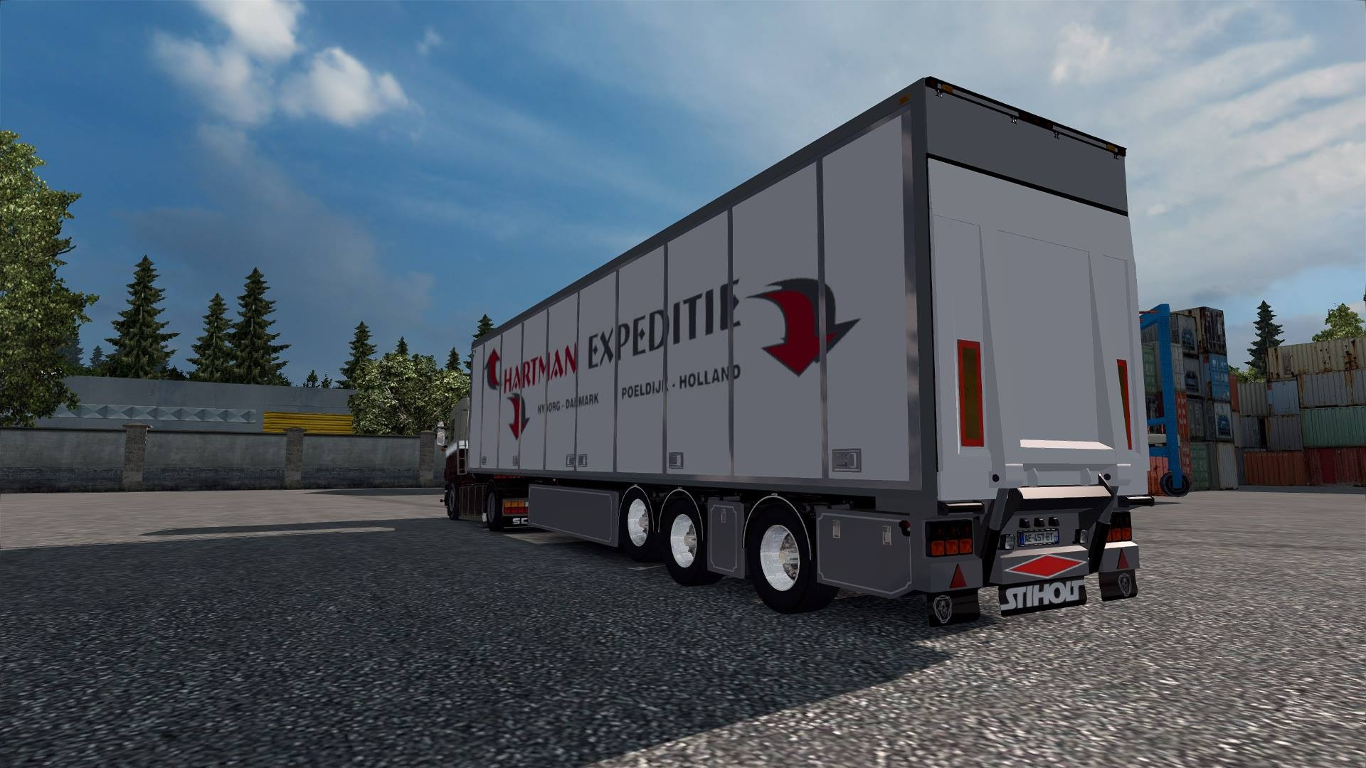 ETS2 Hartman Expeditie FRC Trailer Model