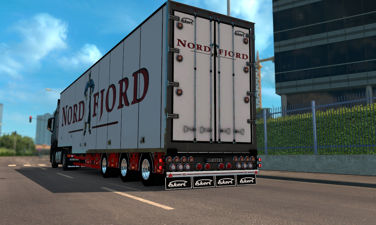 ETS2 Ekeri Version 2 Trailer Model