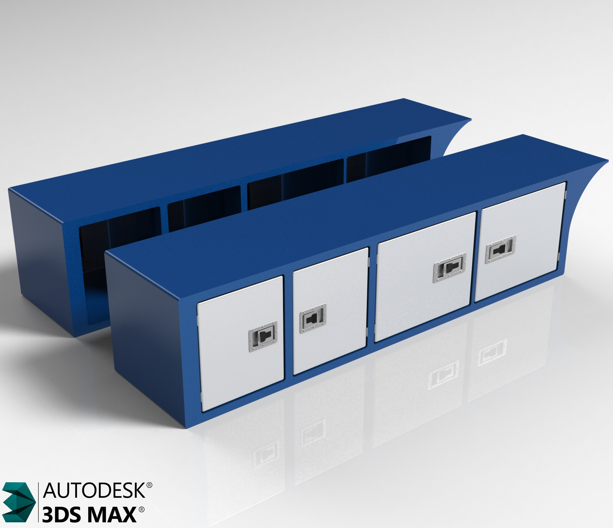 3D Sideboxes Model