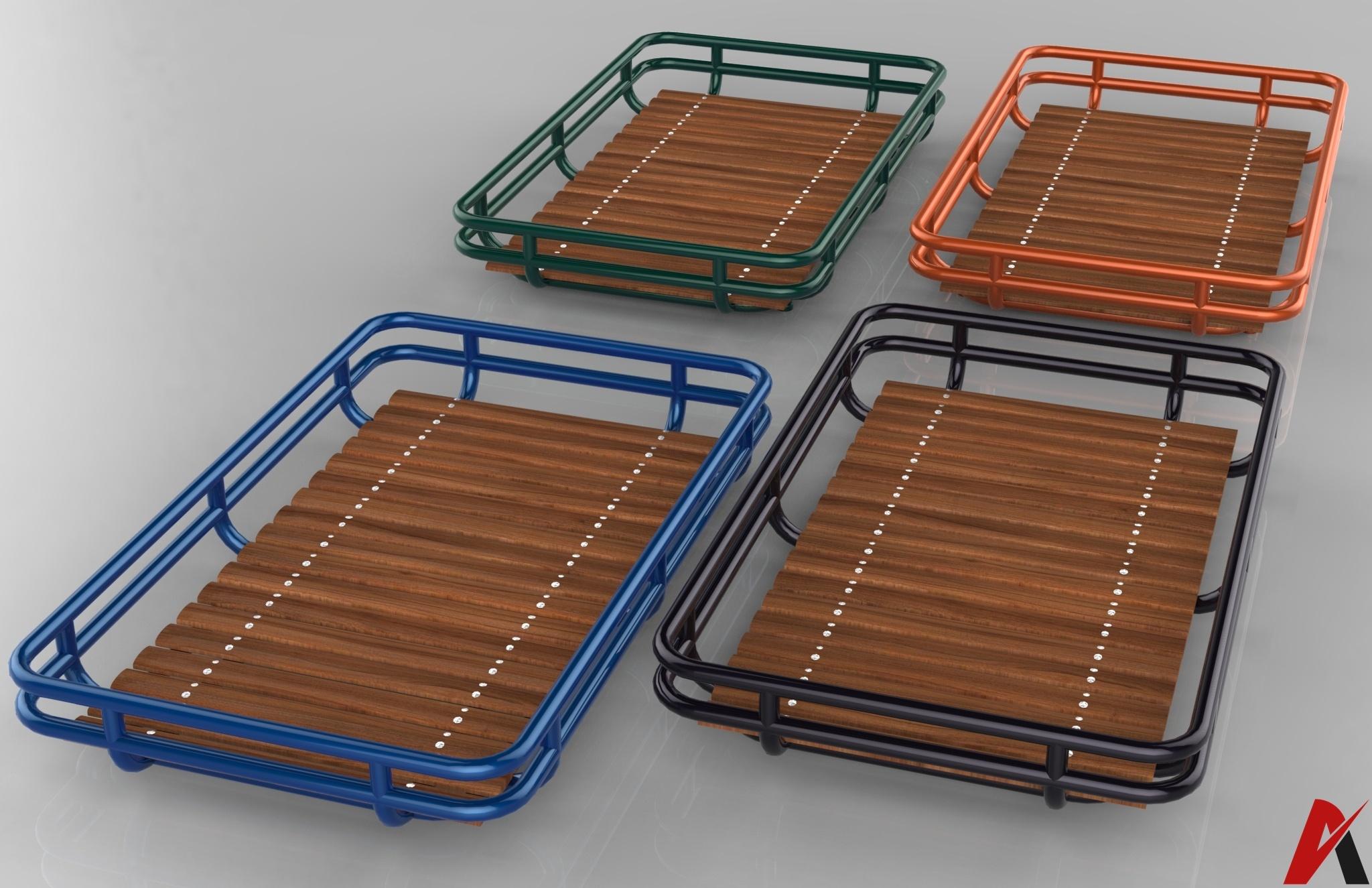 3D Roof Rack Model