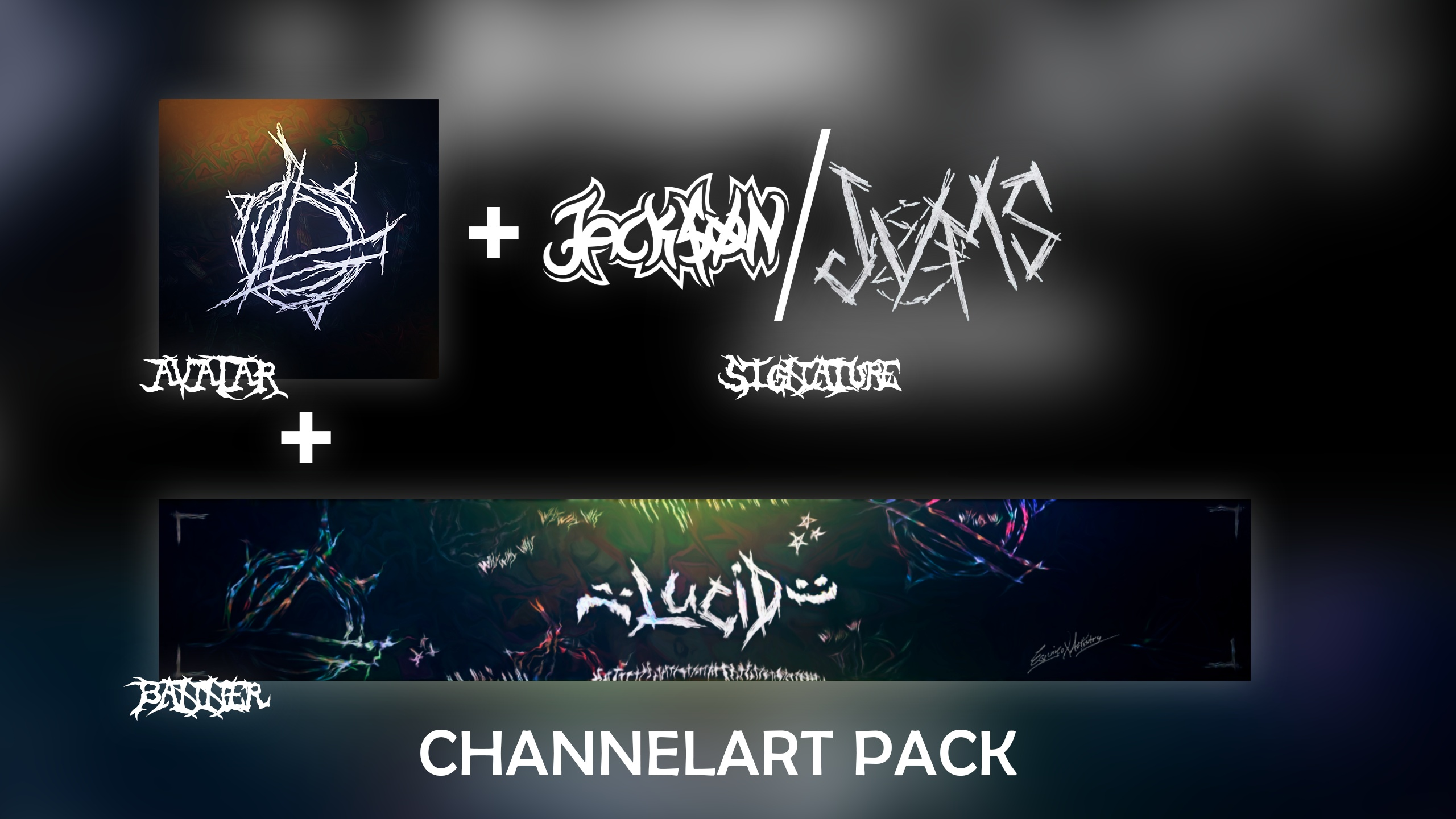 CHANNELART PACK | 𝕬𝖛𝖆𝖙𝖆𝖗 + 𝕭𝖆𝖓𝖓𝖊𝖗 & 𝕾𝖎𝖌𝖓𝖆𝖙𝖚𝖗𝖊