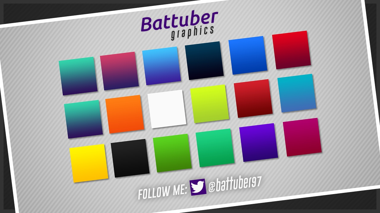 GRADIENT PACK - PHOTOSHOP by  BATTUBER