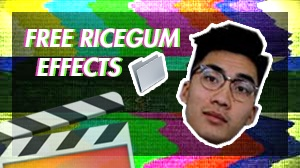 Ricegum video effects
