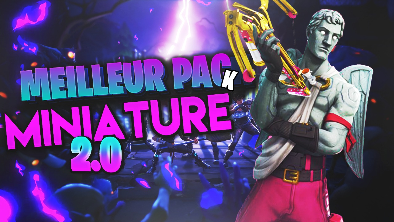 PACK FORTNITE MINIATURE 2.0 (Complet) !