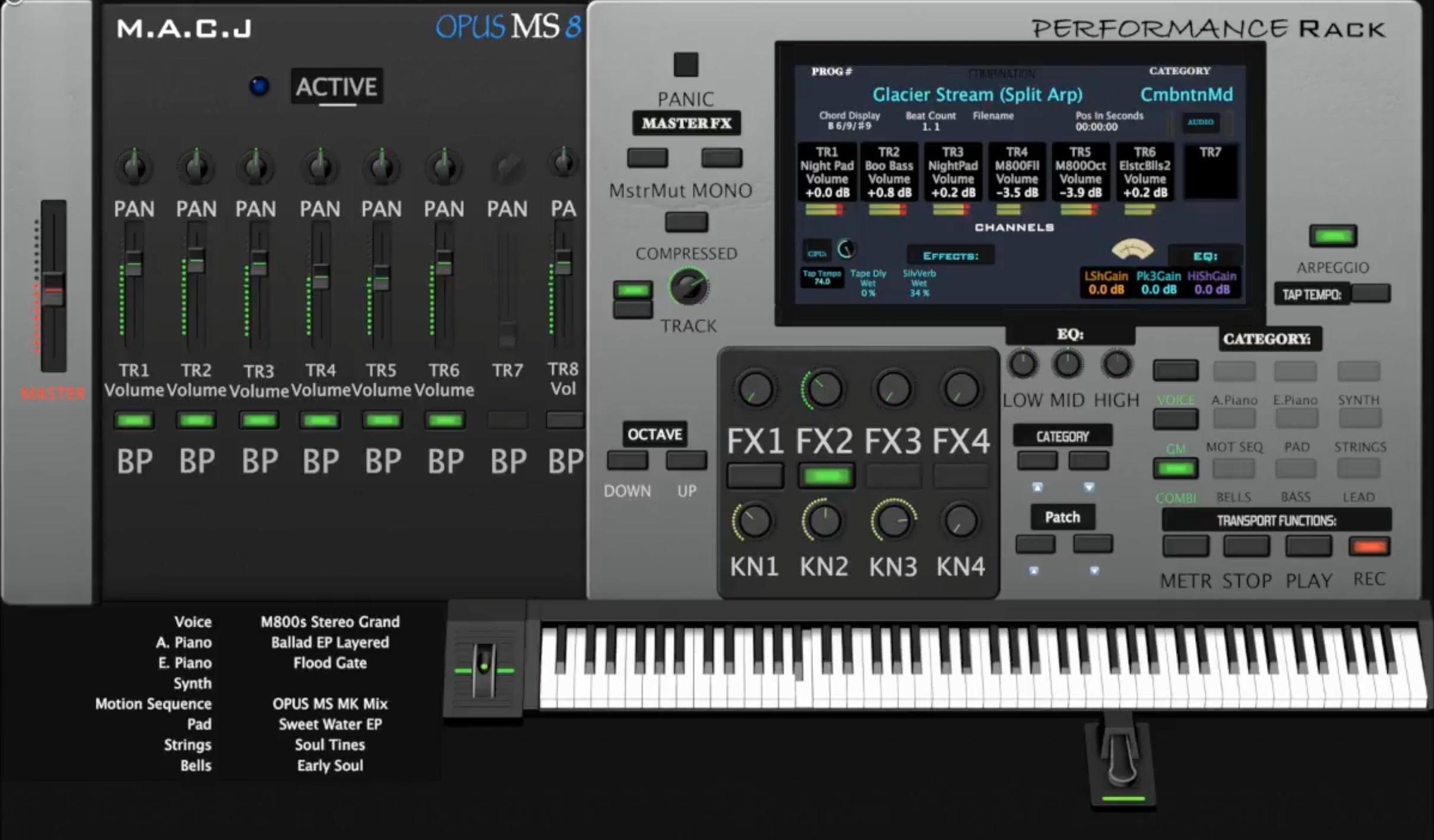 OPUS MSphere Arp Pack
