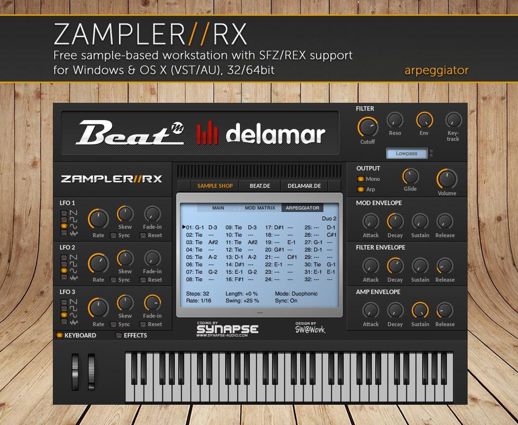 CS40-M BURST – Vintage sound bank for Zampler//RX workstation (Win/OSX plugin included)