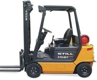 Still LPG Truck Type R70-16T, R70-18T, R70-20CT: R7097, R7098, R7099 Parts Manual