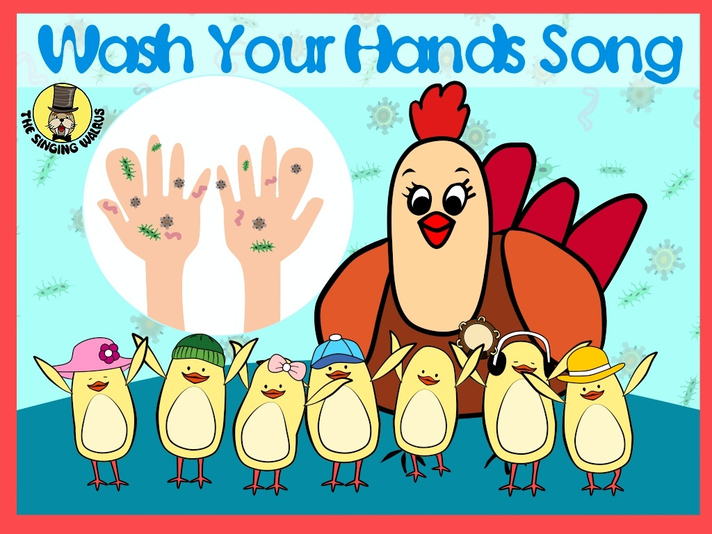Wash Your Hands Song Video (mp4)