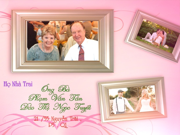Blufftitler Template : Wedding Style 11