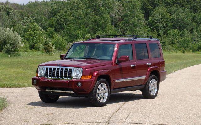 jeep commander xk 2006 2007 2008 2009 2010 factory ser. Black Bedroom Furniture Sets. Home Design Ideas