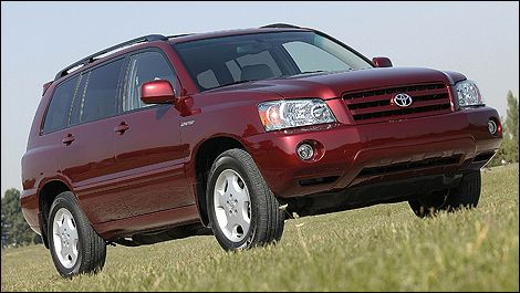 Toyota Highlander 2001 2002 2003 2004 2005 2006 2007 Factory Workshop service repair manual
