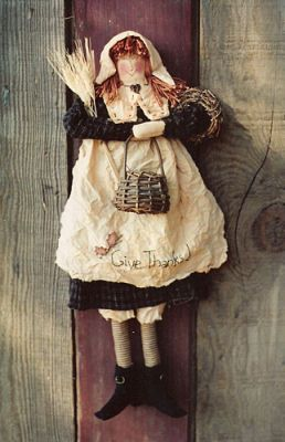 015e Bess Sweet Pilgrim Girl ePattern