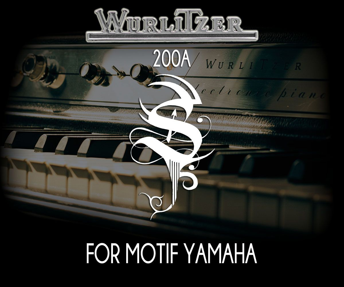 Wurlitzer 200a For Motif XS