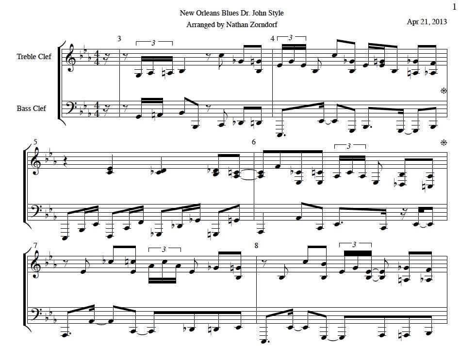 Piano easy piano blues sheet music : FunkPianoAcademy.com - Sellfy.com