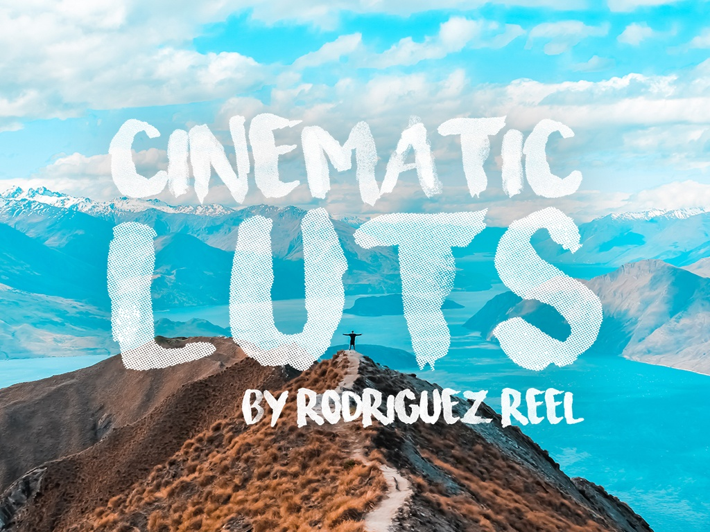 [BONUS] Six Cinematic 3D LUTs