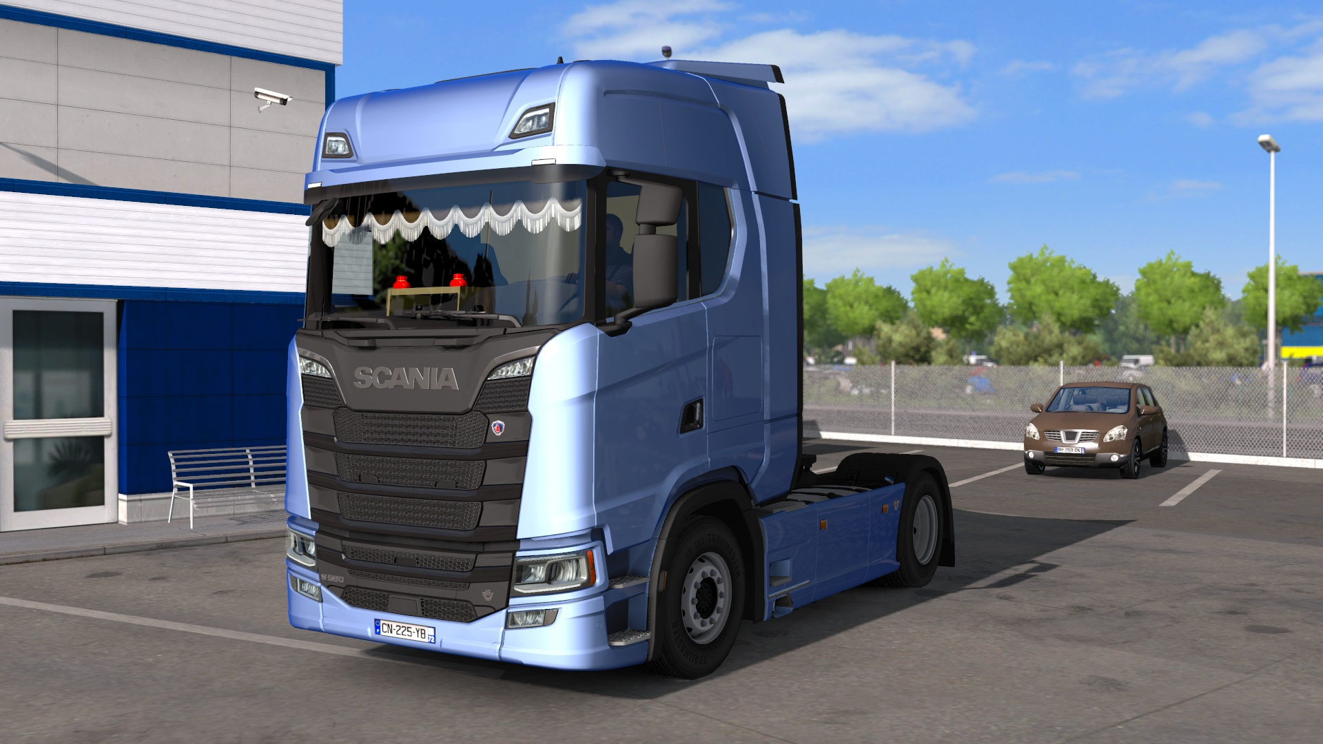 Interior for S Scania Next Gen