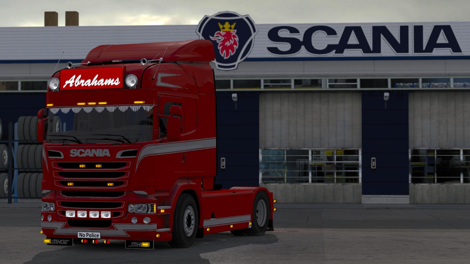 Scania Abrahams