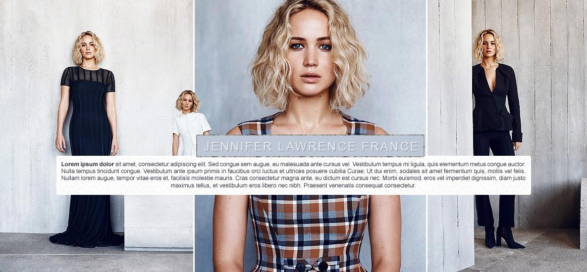 PSD Layout Jennifer Lawrence