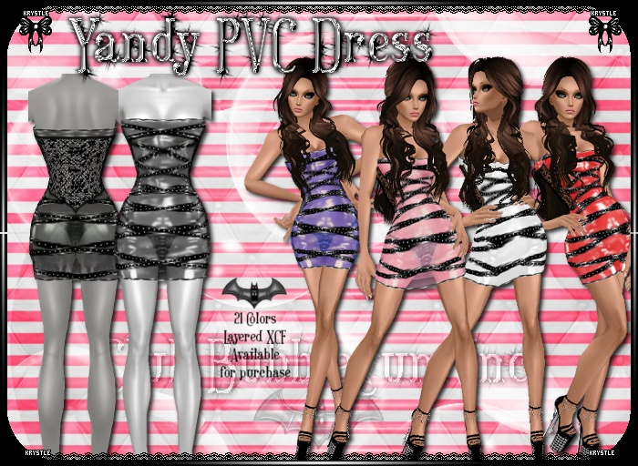 Yandy PVC Dress PNG Edition