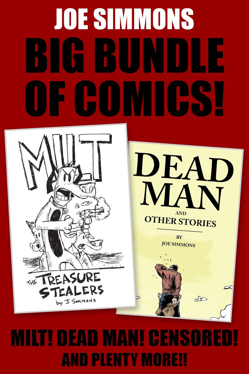 Joe Simmons Big Bundle of Comics!