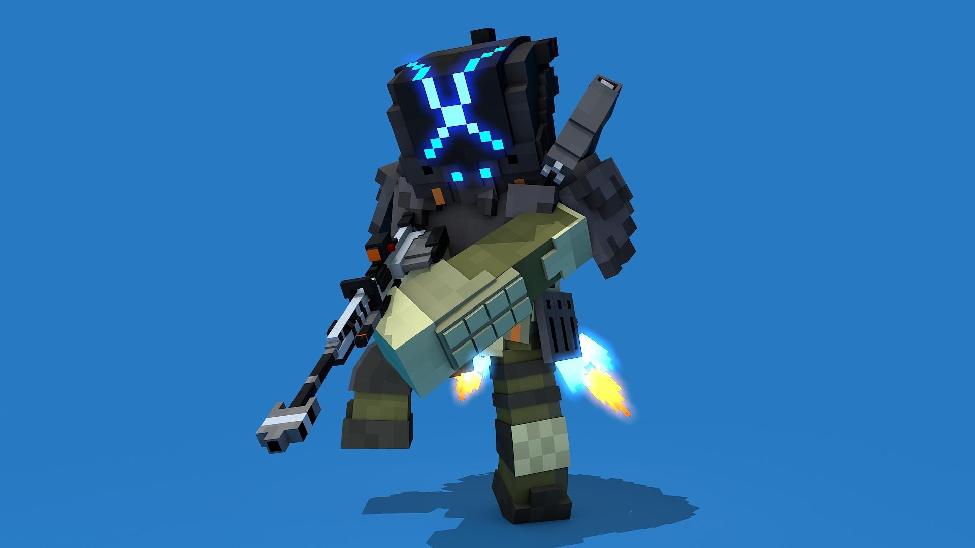 MC Cloack Pilot Rig V2.0(Titanfall2)(#FD)