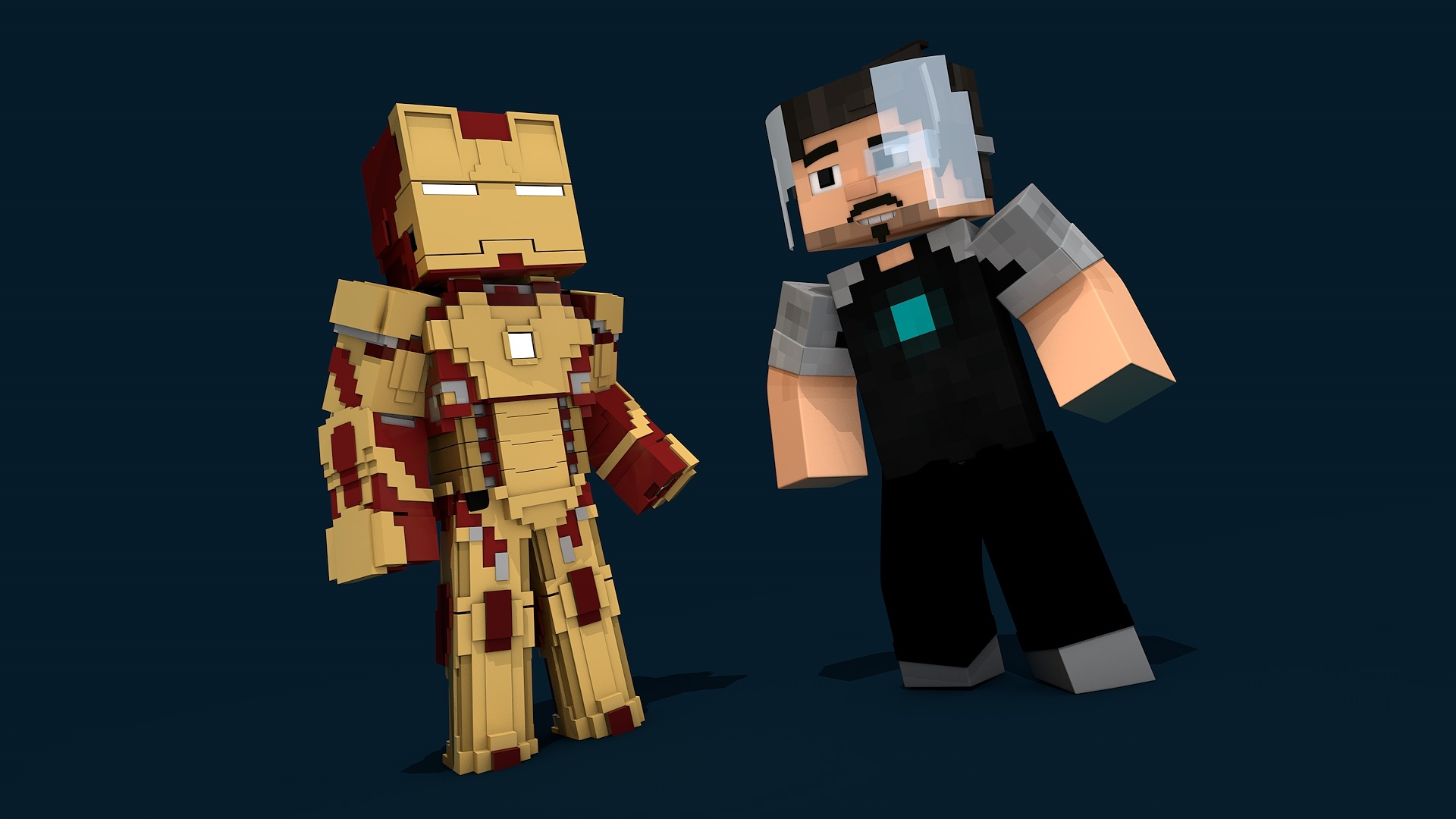 MC Iron Man Mark 42 Rig (#FD)