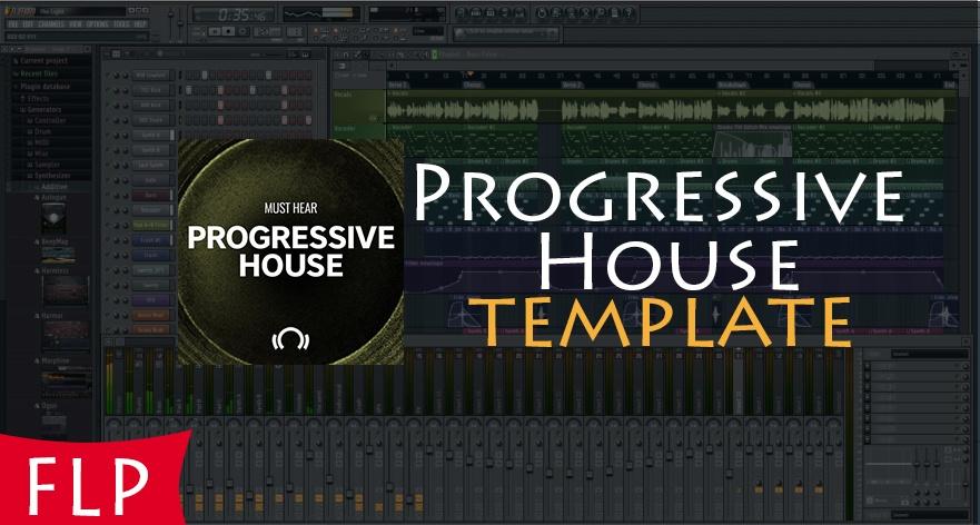 FL STUDIO - EDM Progressive House Template #3 [FULL FLP]