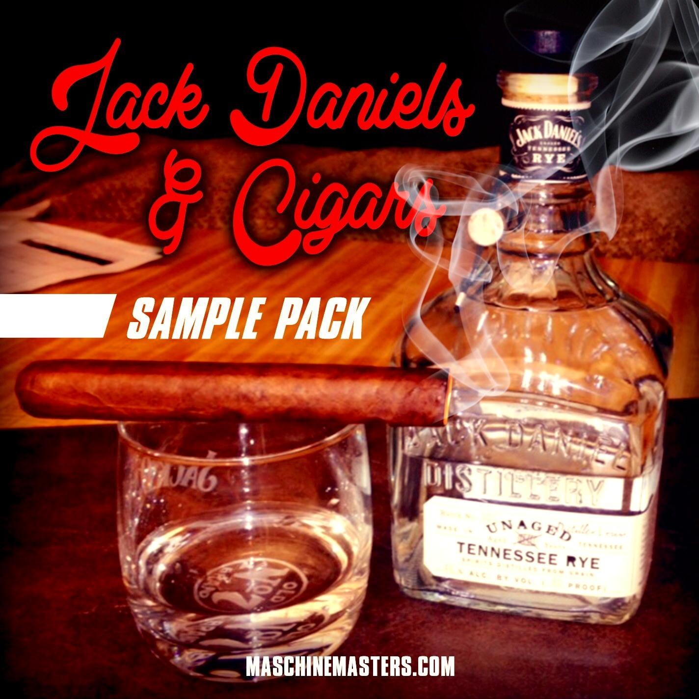 Jack Daniels N Cigars Sample Pack