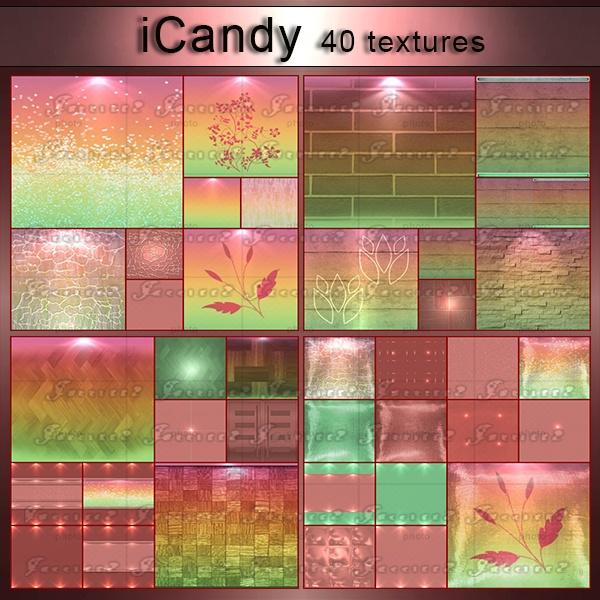 iCandy-40 Textures