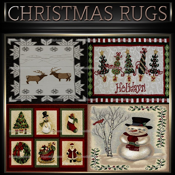 A~CHRISTMAS RUGS-30 TEXTURES