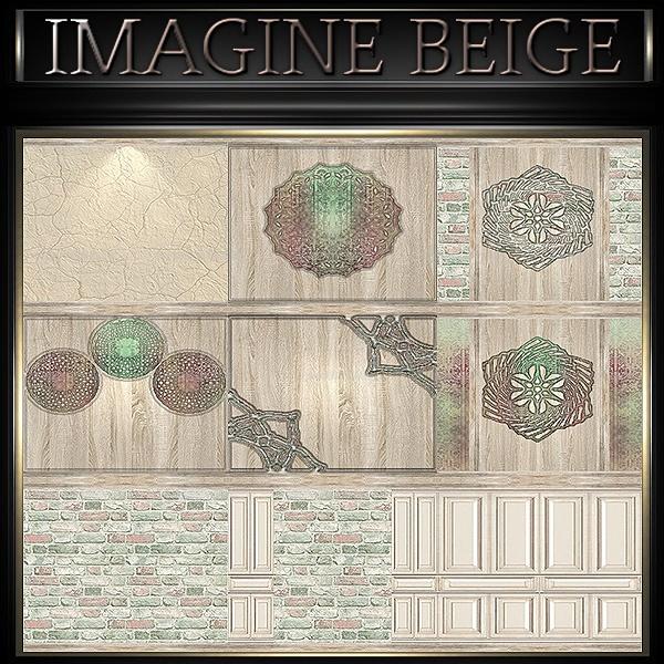 A~IMAGINE BEIGE-48 TEXTURES