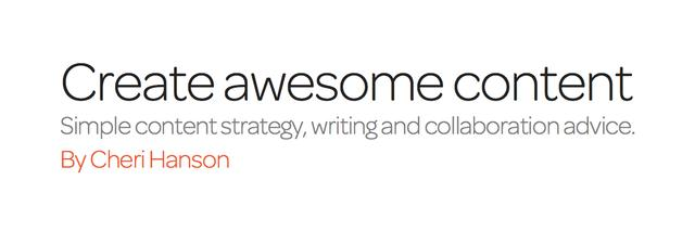 Create Awesome Content (ebook)