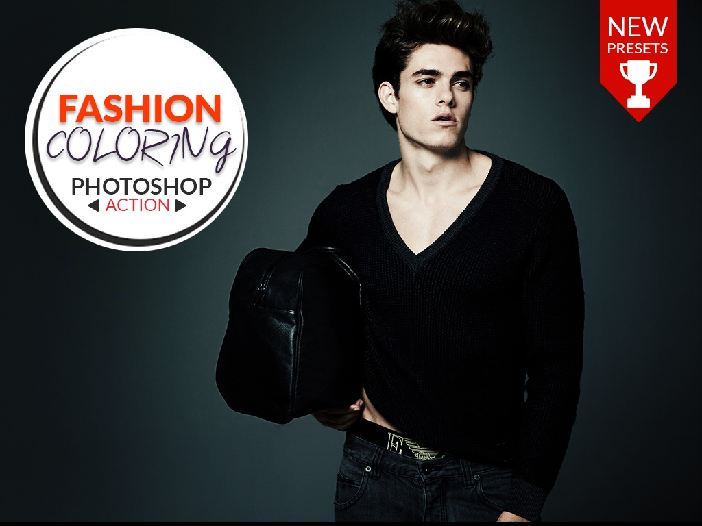 FASHION COLORING - PHOTOSHOP ACTION!