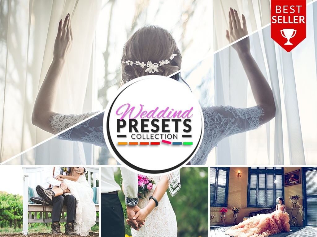 WEDDIND PRESETS (PHOTOSHOP) COLLECTION 2017!