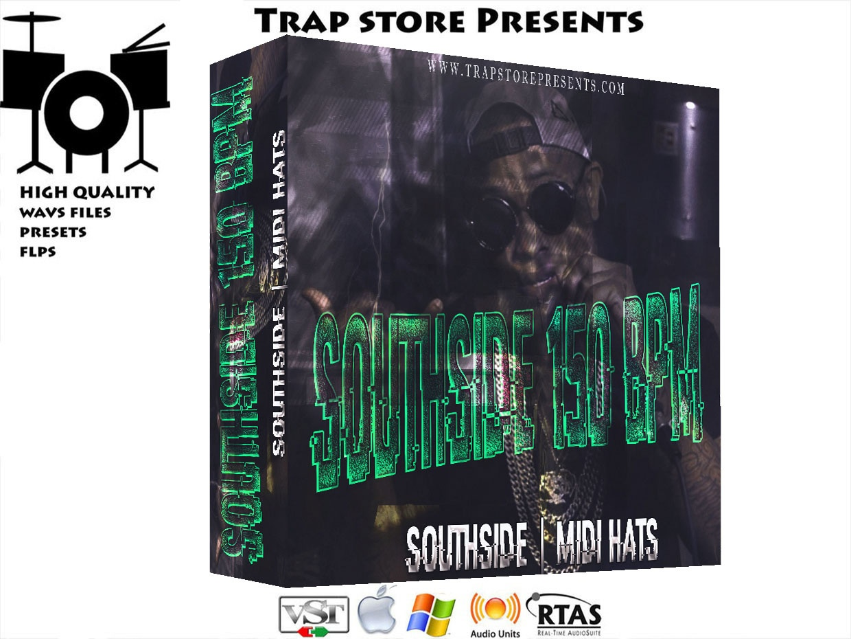 Trap Store Presents - SOUTHSIDE HATS MIDI 150 BPM [COMING SOON]