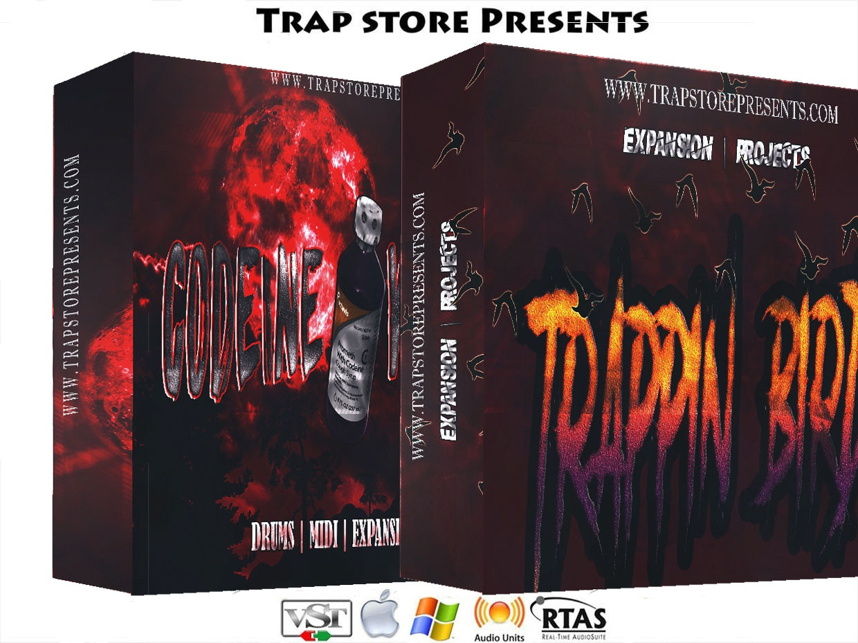 Trap Store Presents - Codeine Withdraw & Trappin Birds [ Coming Soon ]