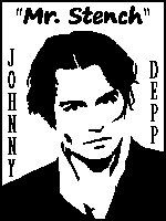 Johnny 'Mr. Stench' Depp