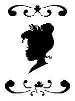 Head Silhouette - Tiana