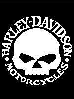 Harley Davidson Motorcycles Skull
