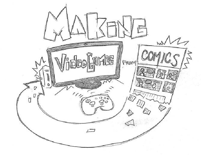 Making Video Games From Comics