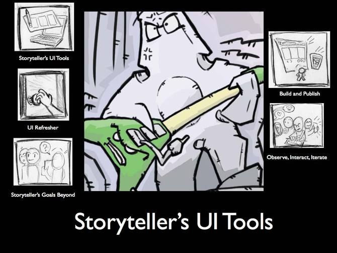 Storytelling to Make Your Comic's UI Awesome