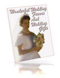 Wonderful Wedding Favours