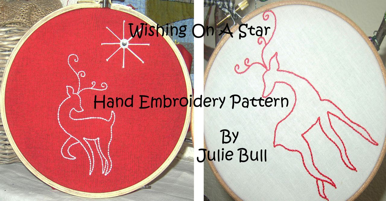 Wishing On A Star Hand Embroidery Pattern