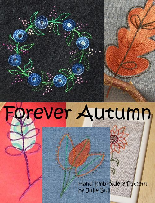 Forever Autumn  Hand Embroidery Pattern