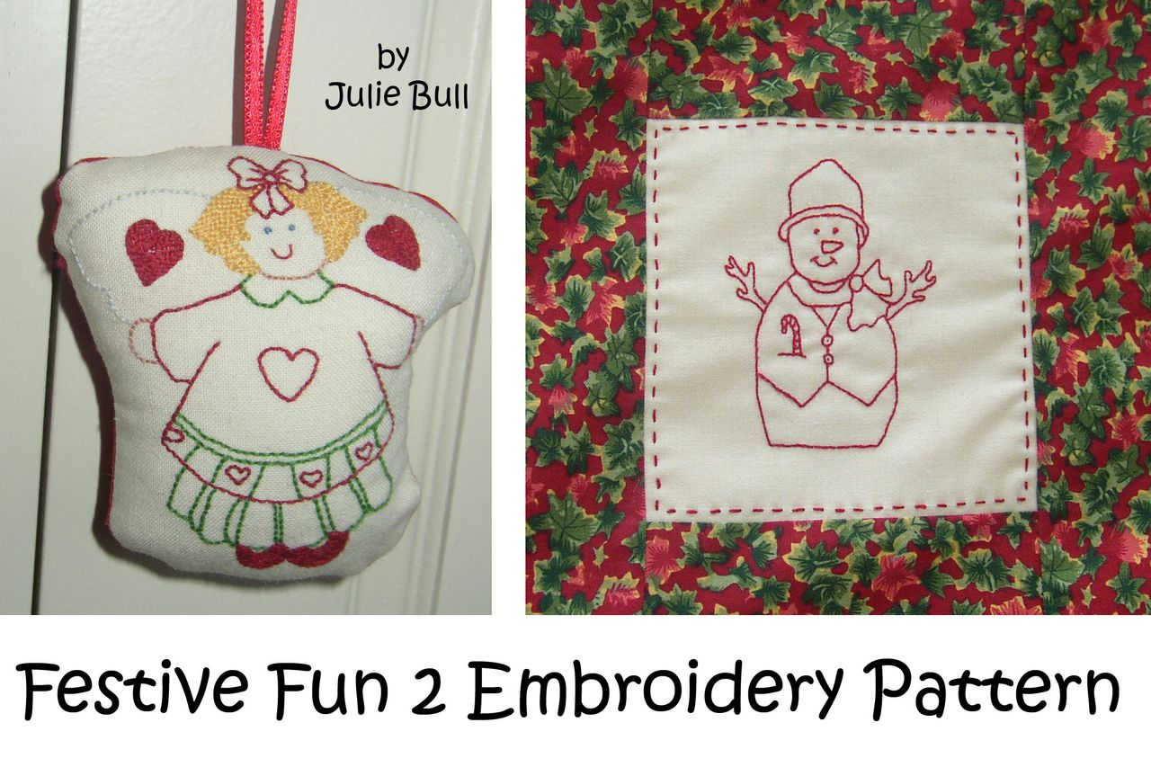 Festive Fun 2 Hand Embroidery Pattern