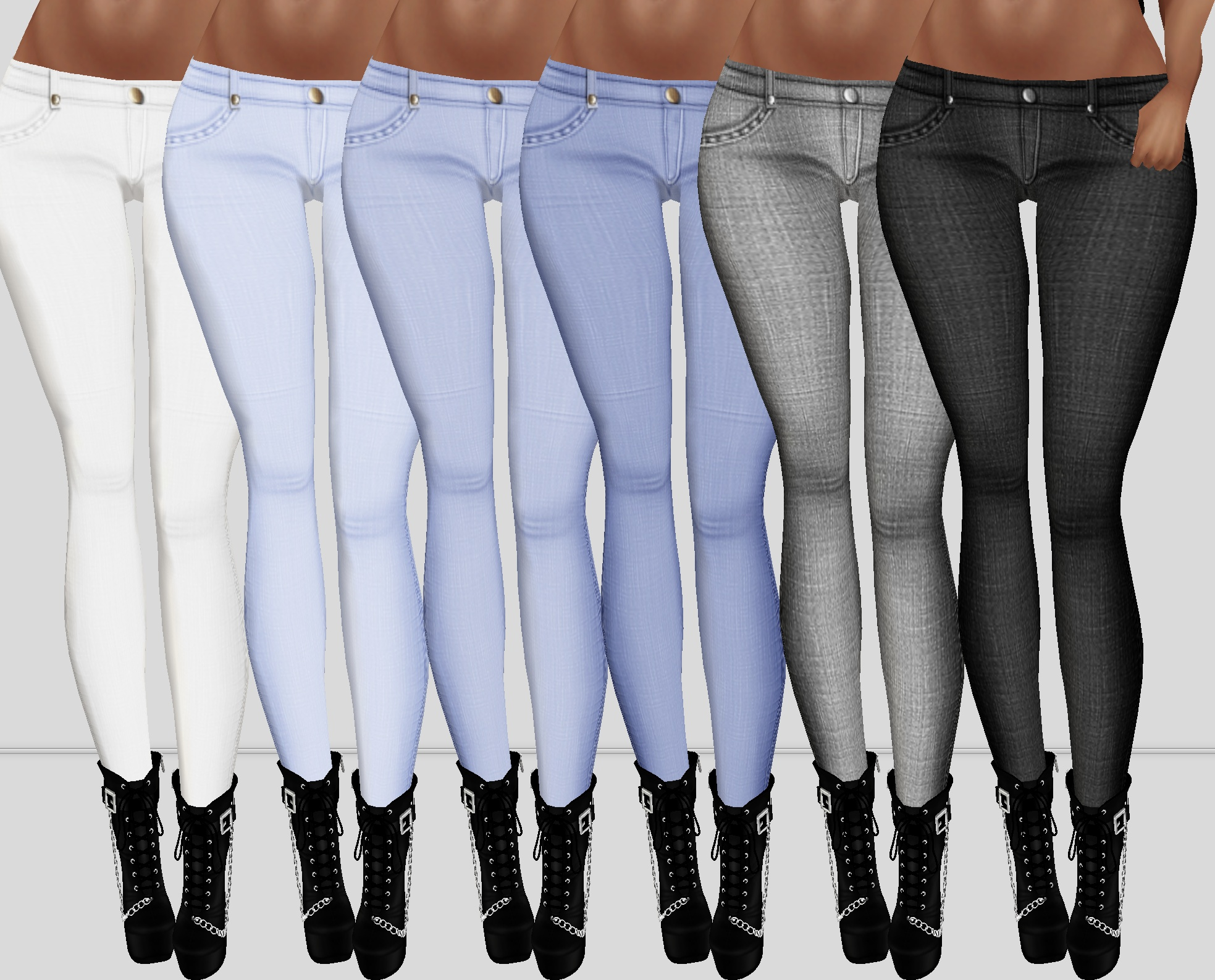 Realistic Jeans 03 RL